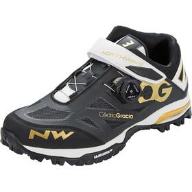 Northwave Enduro Mid Schuhe Herren schwarz/weiß